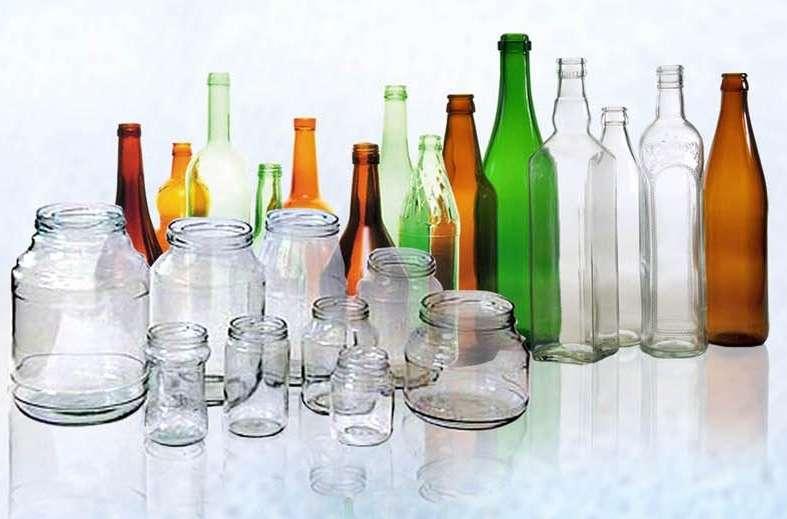Скляні пляшки і банки, пробки і кришки – великий вибір